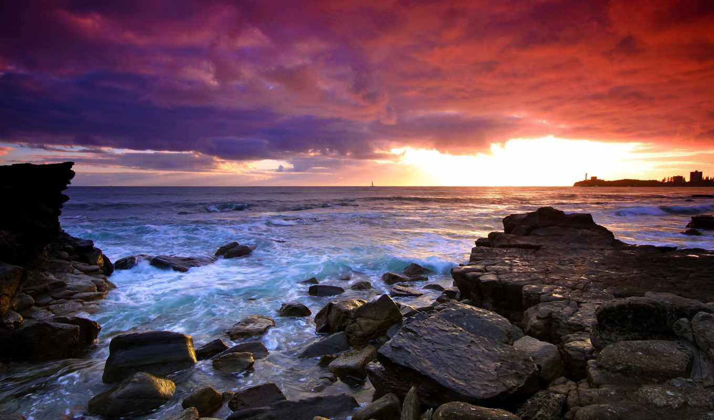 море, full, природа, фон, страница, desktop, best,