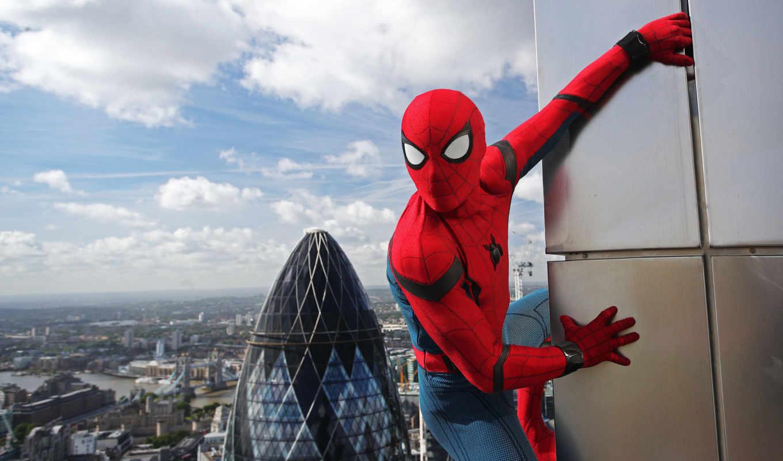homecoming, паук, мужчина, spiderman, resolution, фильмы,