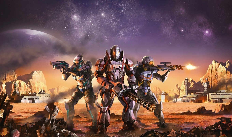 combat, sector, январь, от, отправлено, войны, игры, ур, общий, за, оружие, тема, арт, ты, скалы, пулемет, изображение, звезды, выстрелы, броня, вад, капустин, планета, кибер,