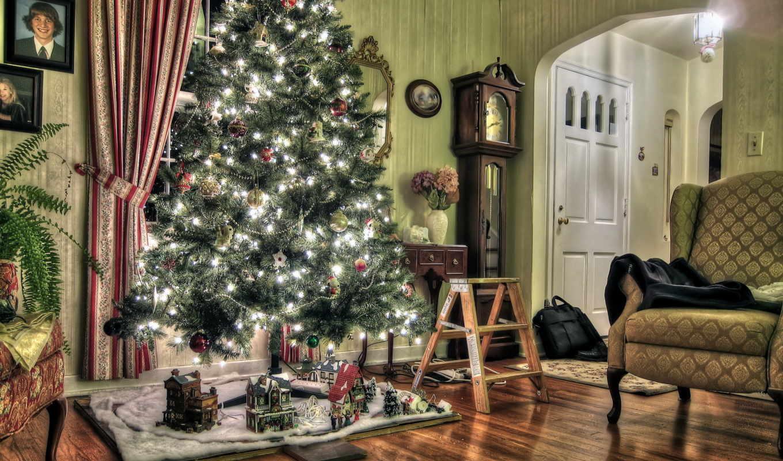 new, год, дерево, christmas, праздники,