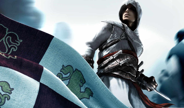 creed, assassins, флаг, assassin, kredo, асасин,