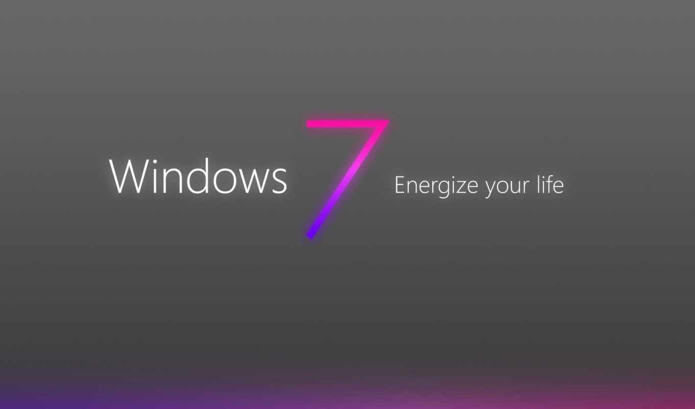 windows, se7en, wallpaper, logo, grey, purple