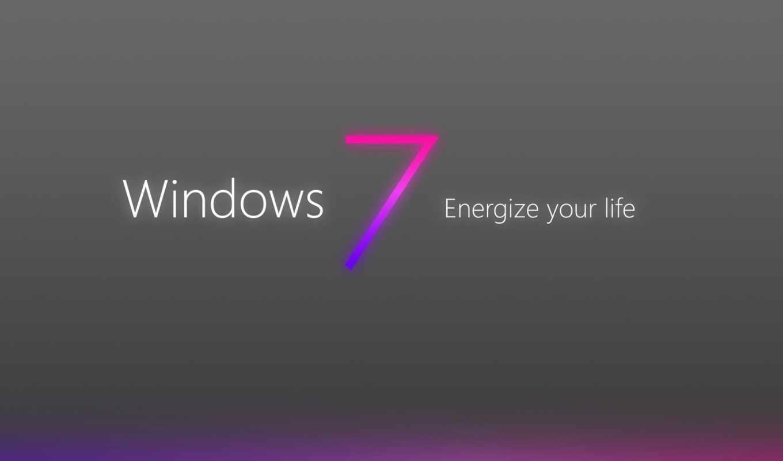 windows, se7en, wallpaper, logo, grey, purple
