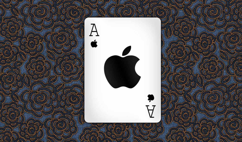 apple, map,