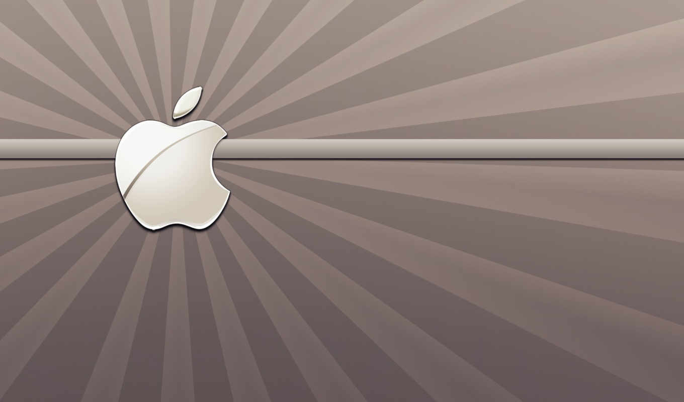 apple, браун, views, logo, shining, пожаловать,