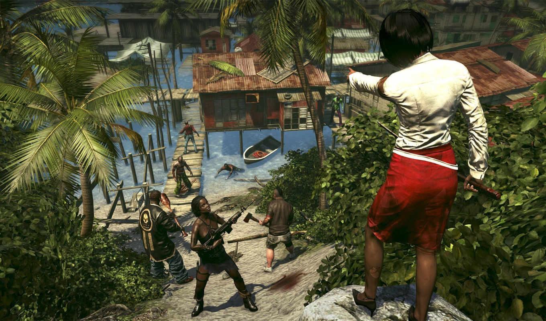 dead, остров, riptide, game, video,