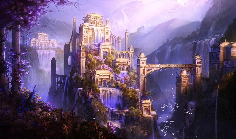 castle, art, мрачные, рейтинг, красивые, замки, картинкирейтинг, обоирейтинг, everything, замков,