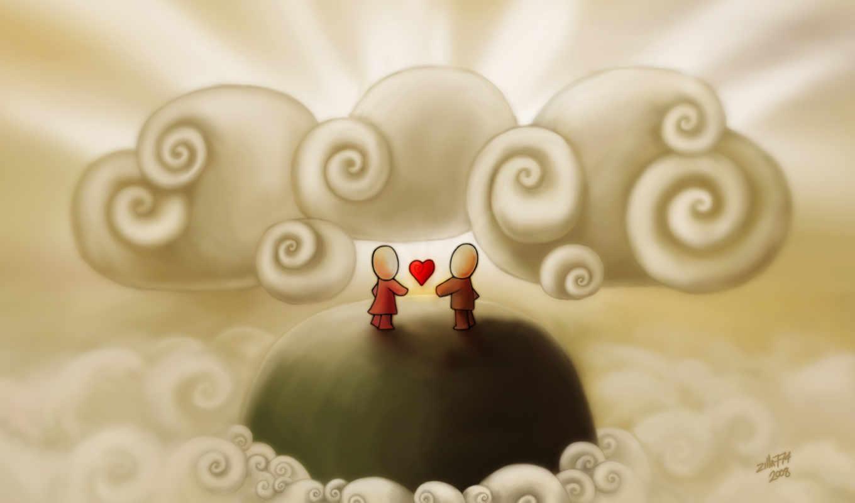 минимализм, романтика, арт, love, картинка,