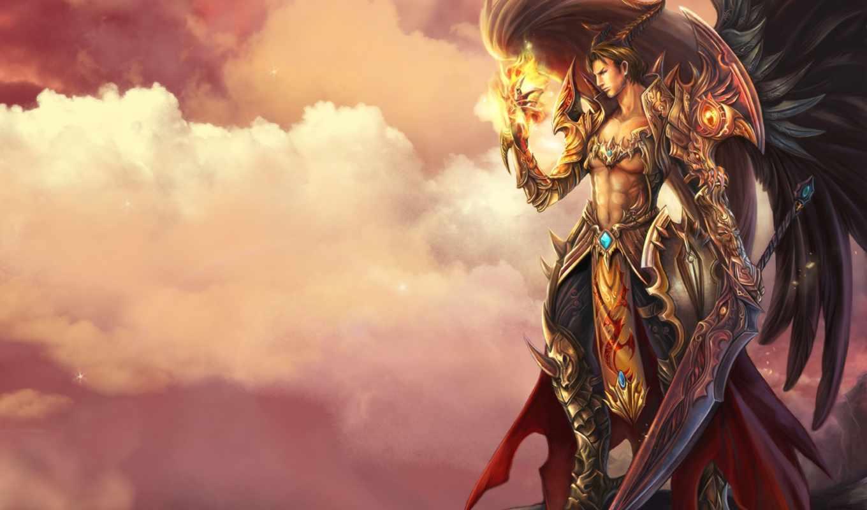 фэнтези, мир, fantasy, angels, magic, slayer, фантазий, ангелы, твоих, armor, swords, грез, turbobit, warriors, artwork,