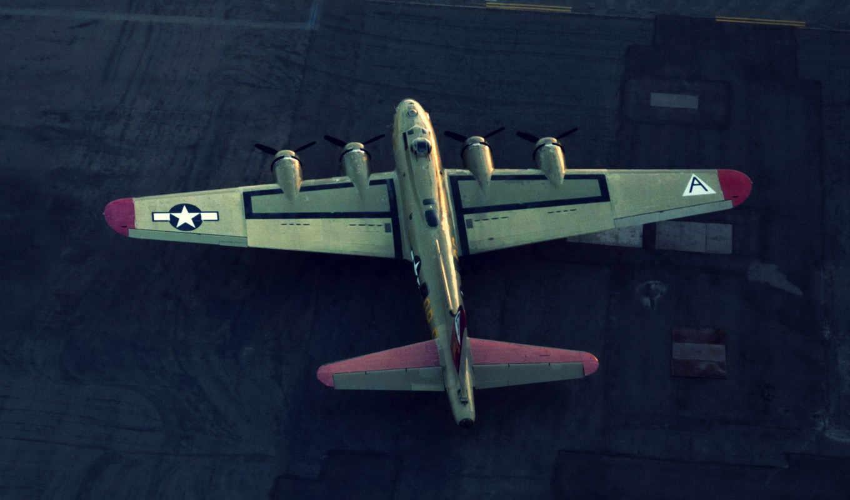 fortress, flying, vehiclehi, desktop, boeing, avión, pantalla, avion, фон,