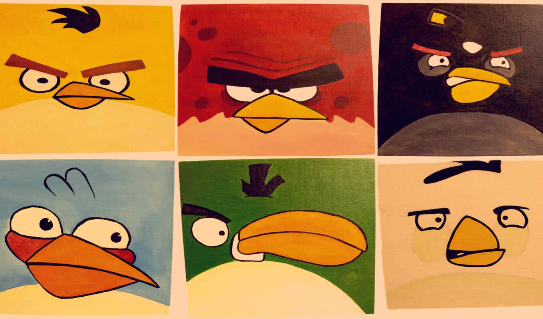 игра, birds, iphone, angry, картинка, apple, птицы, ipad,