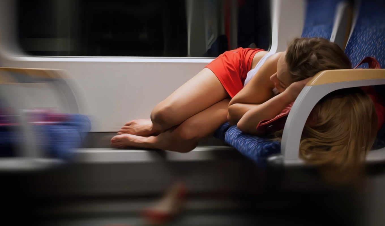 волосы, девушка, светлые, спать, спит, ситуации, трусы,