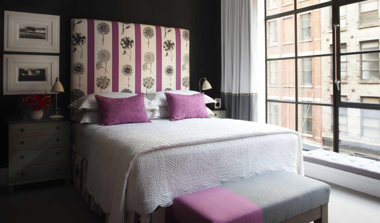 hotel, crosby, кровать, нью, йорка,