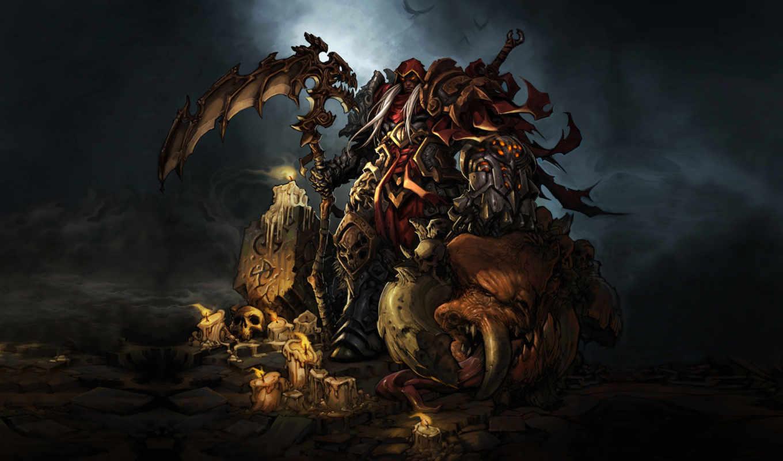 darksiders, game, картинка,