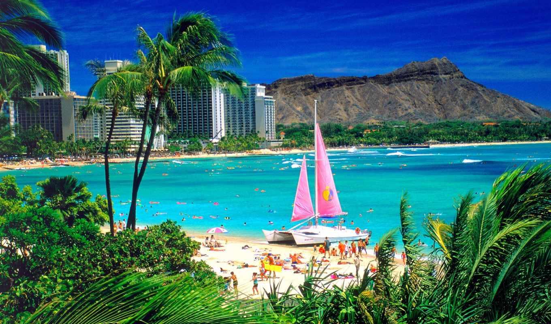 гонолулу, hawaii, острова, гавайские, oahu, город, helsinki, туры,