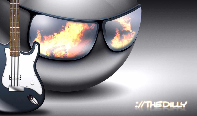 смайлы, огонь, music, cool, full, rendering, man, dilly, pop, star,