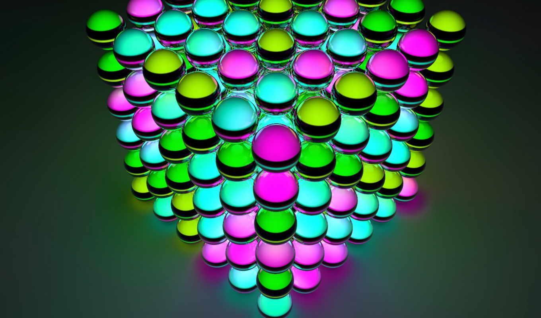 шарики, разных, разрешениях, разноцветные, подборка,