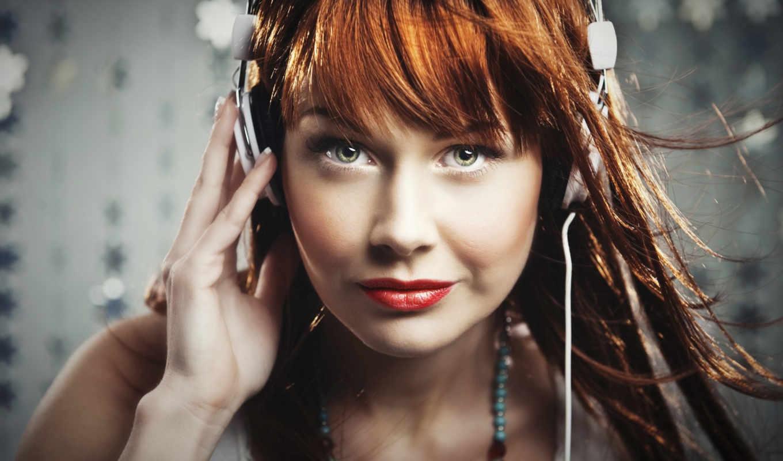headphones, девушка, наушниках, devushki,