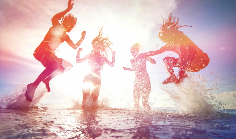 пляж, отдых, company, ночь, sun, день, summer, песок, ready, когда, why