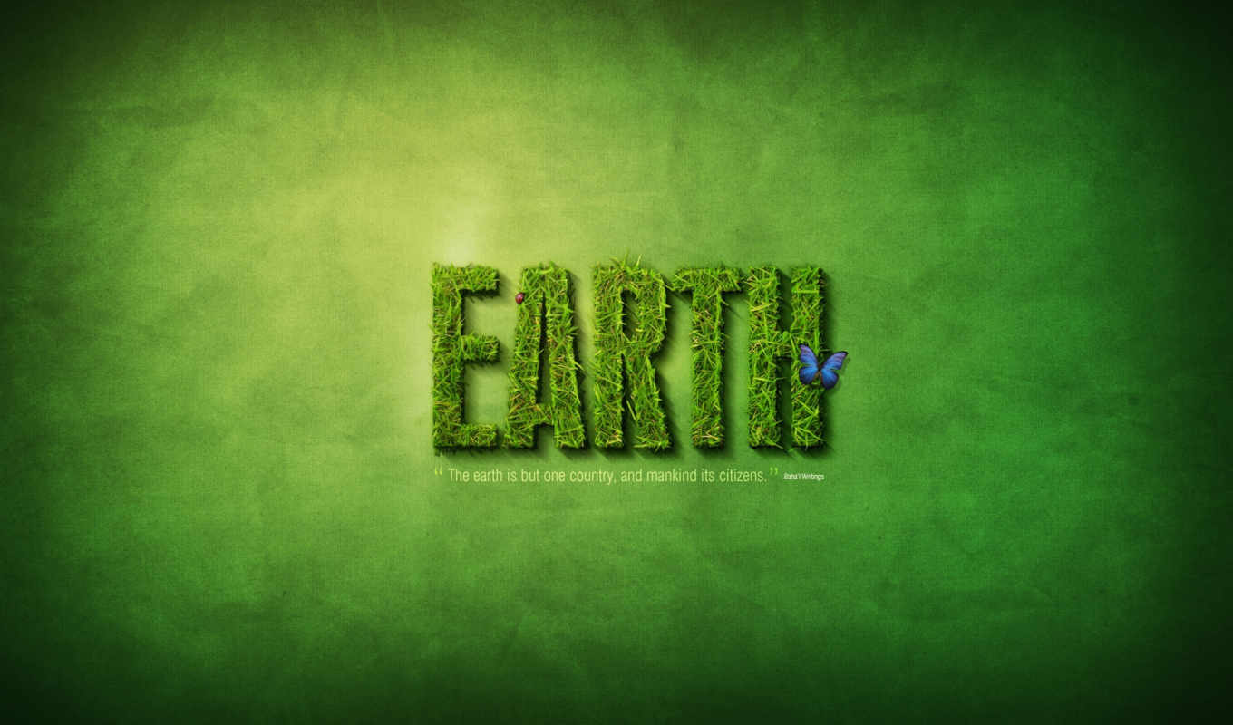 earth, photoshop, text, лето, зелень, effects, tutorials, effect, with, create, картинка, creative, grass, similar, funny,