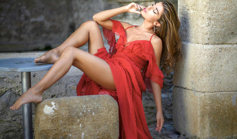 bianchino, chiara, модель, sign, red, платье, boş, chris, красное, chiarab