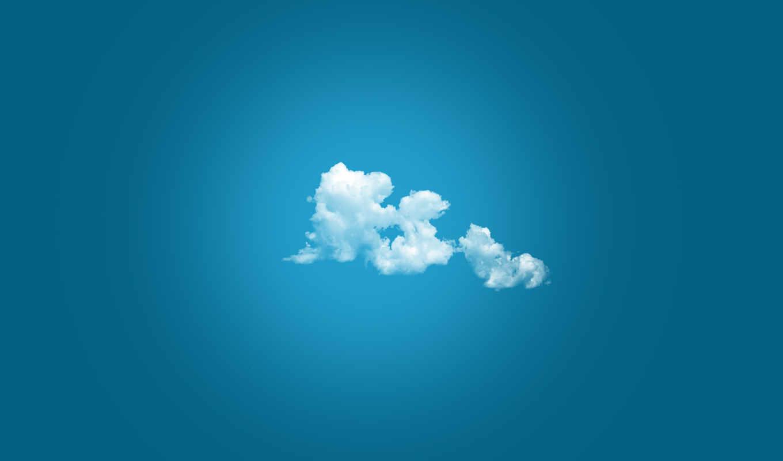 скачать облака,синий