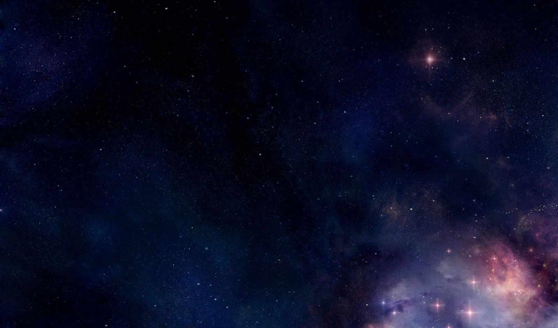 space, art, digital, синие, космические, outer, темно, звезды, part, desktop,