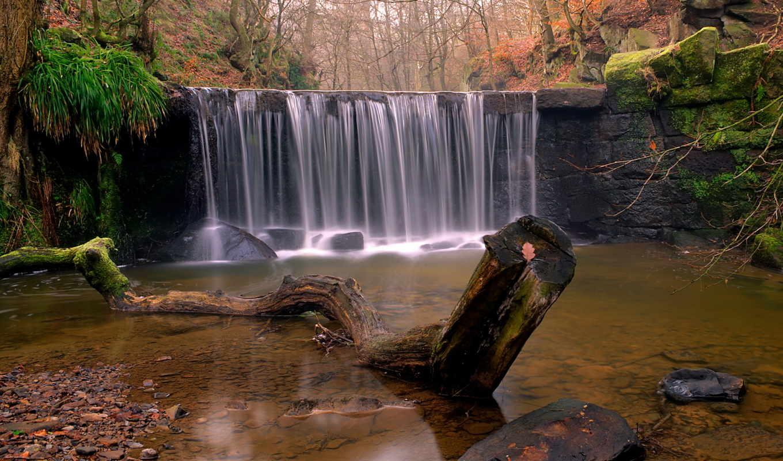 фотографии, водопадов, природа, водопад, красивые, которую, создает, скалы, красавица,