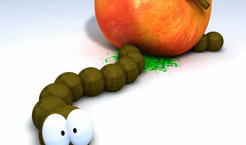 червяк, edit, тока, картинку, яблочка, наверх, ли, ситуации, позитива, жизни,