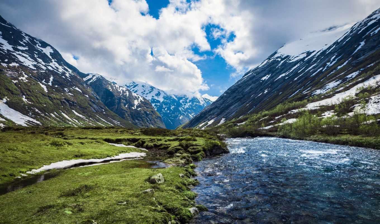 горы, холмы, красивые, заставки,