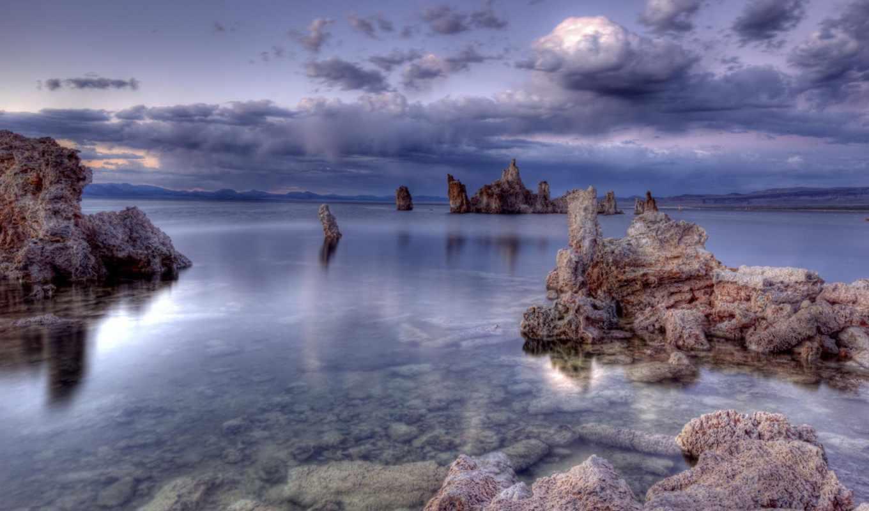 lake, блаженство, штиль, море, красота,