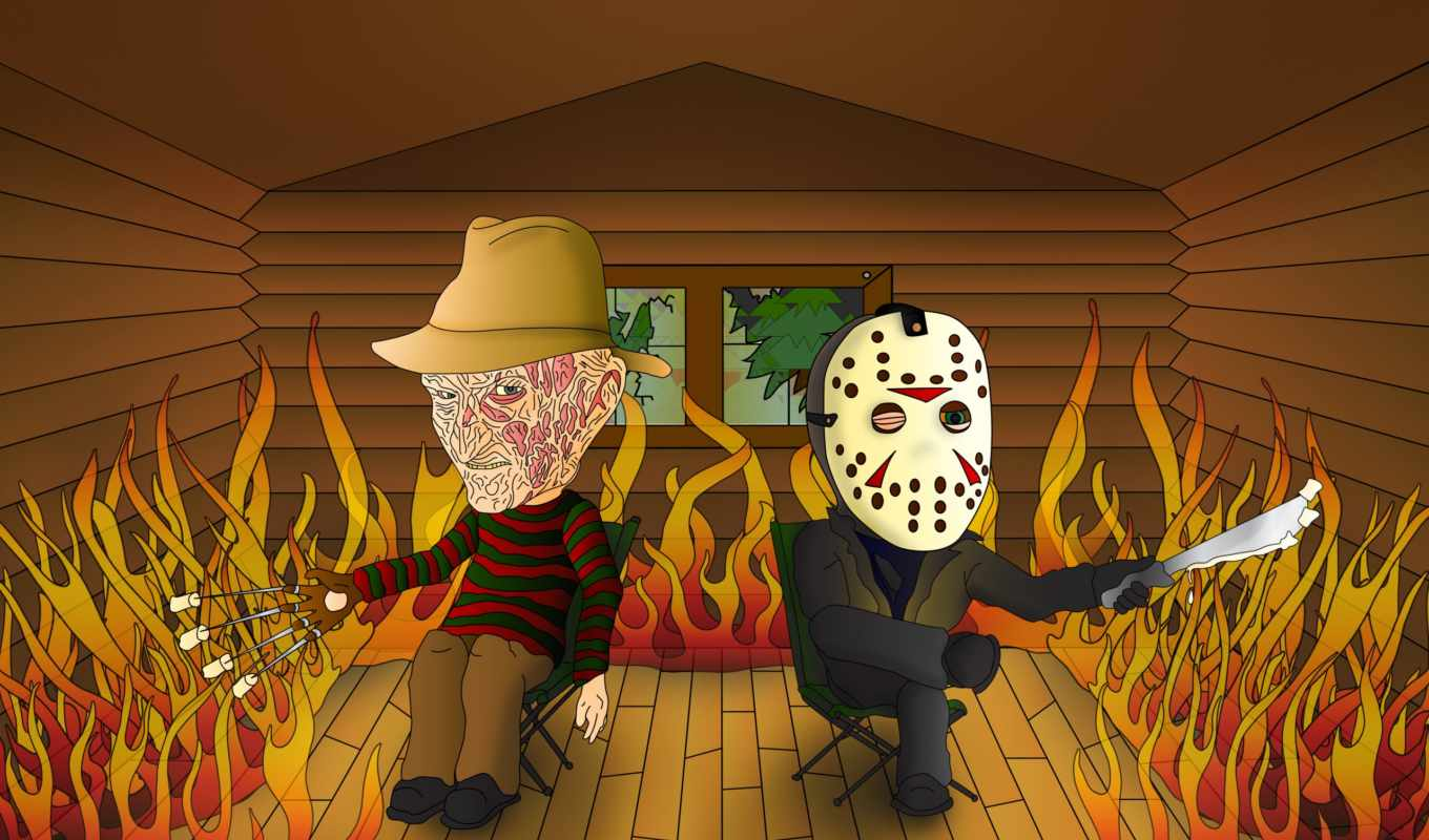 джейсон, freddy, friday, voorhees, krueger, nightmare, вяз,