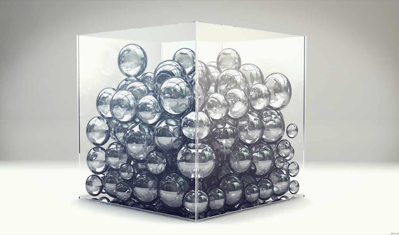 кубик, digital, art, lacza, лабиринт, зелёный, glass, графика, цветы, blue,