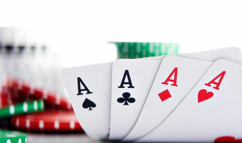 покер, карты, казино, фишки, просмотреть,