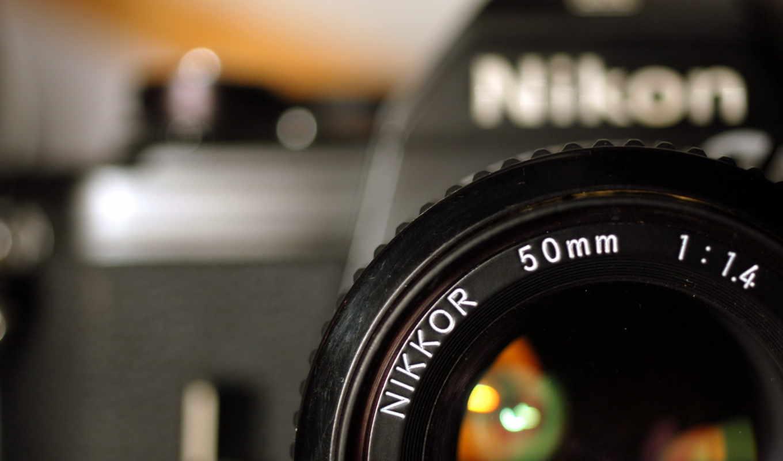 фотоаппарат, nikon, объектив, бренд,
