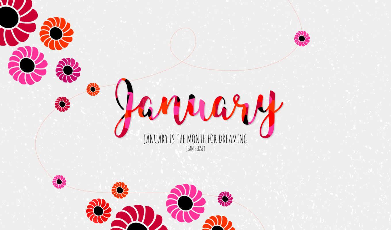 desktop, you, new, календарь, январь, inspiring,