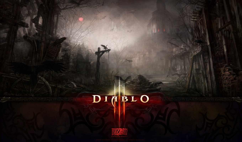 diablo, iii, игры, blizzard,