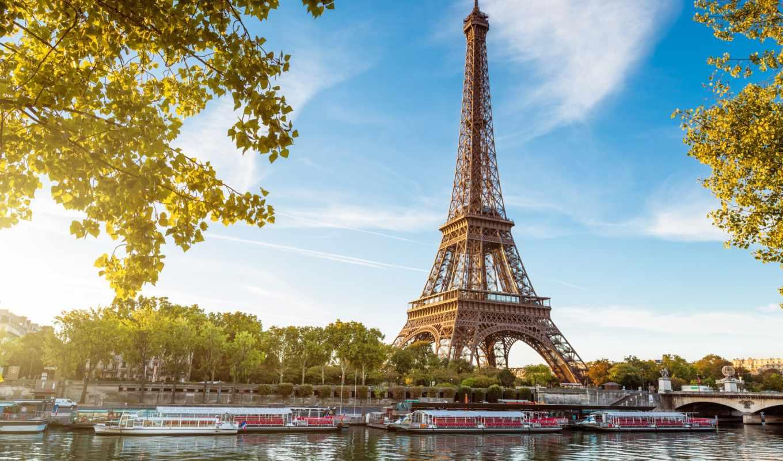 , париж, eiffel, sena, torre, кухни, эйфелева,