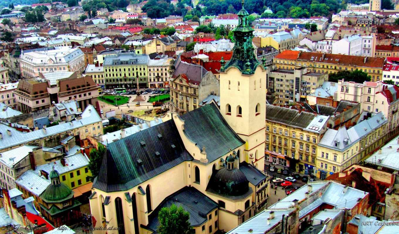 cathedral, львів, святые, church, места,
