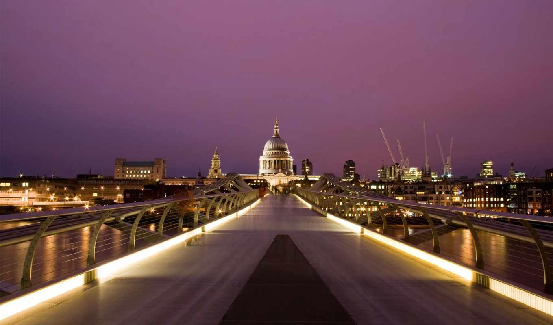 мост, millennium, london, everything, город, фотообои, possible,
