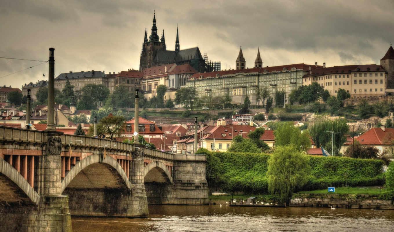 ,, Прага, мост,  город, 4k resolution, архитектура