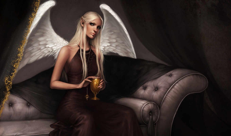 ангел, бокал, диван, картинка, картинку, мыши, кнопкой, кликните, левой,