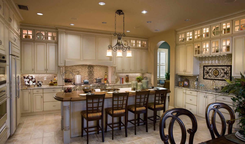 Кухня интерьер посуда скачать