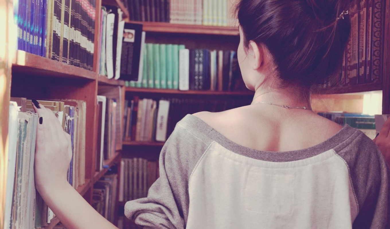 книги, девушка, брюнетка, ситуации, книга, магазин, нов, дверь,