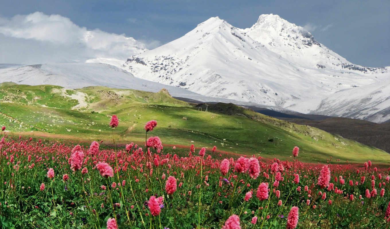 эльбрус, гора, азау, shelter, находится, россии, карачаево,