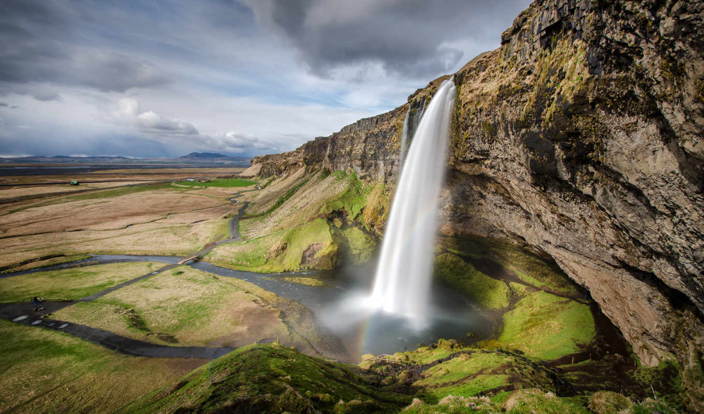 iceland, природа, seljalandsfoss, исландии, водопады, водопад, nakonu, country, картинка,