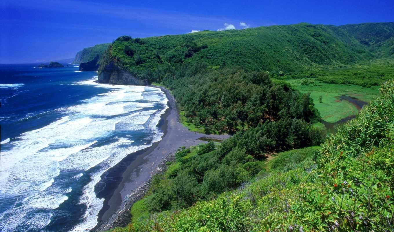 hawaii, пляж,