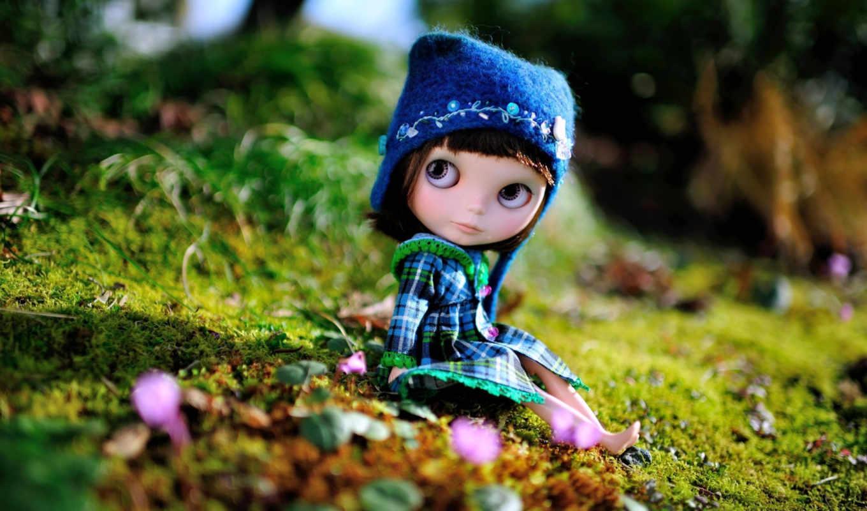 шапка, toy, сидит, разное, страница, doll,