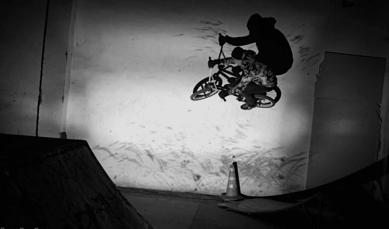 bmx, надпись, стенка, скейтпарк, спорт,