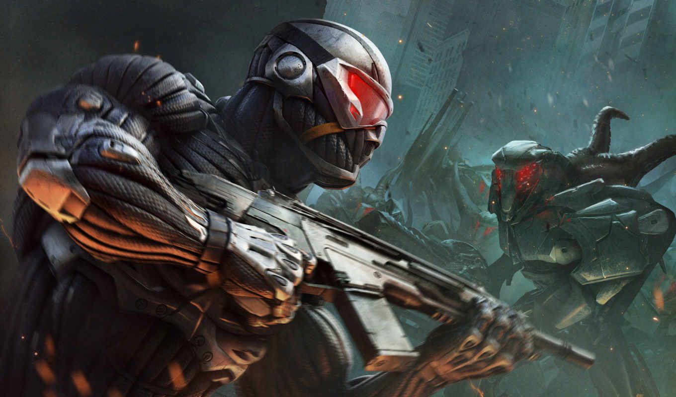 crysis, игры, игра, игре, games, soldiers, video,